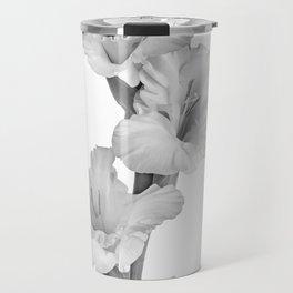 Mono Gladioli Travel Mug