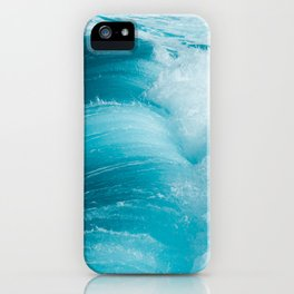Fresh Aqua iPhone Case