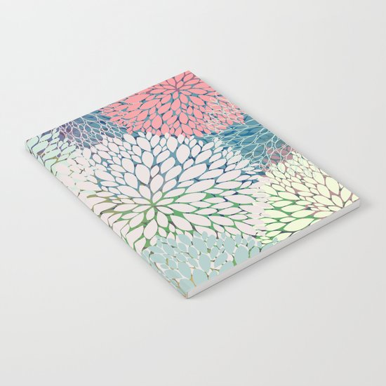 Abstract Floral Petals 3 Notebook