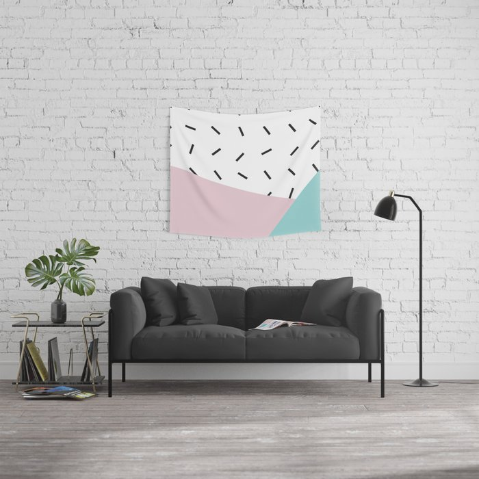 Splice of life Wall Tapestry