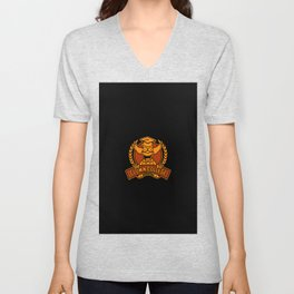 cartoons Unisex V-Neck