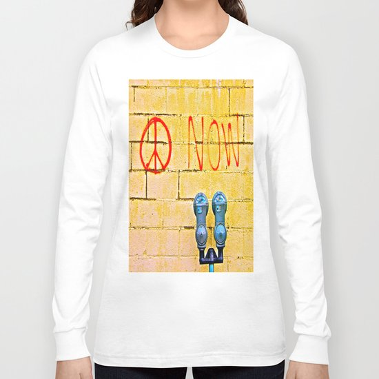 Peace Now! Long Sleeve T-shirt