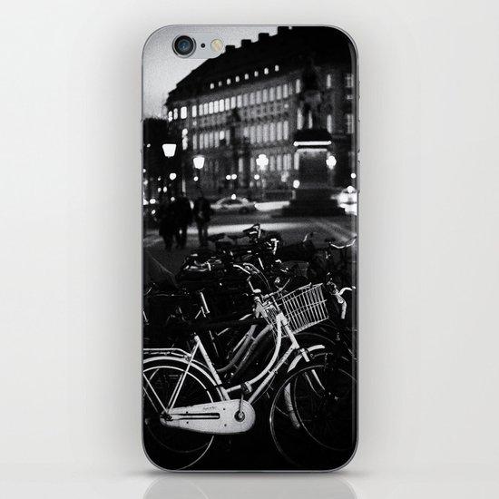 Bike Stand iPhone & iPod Skin