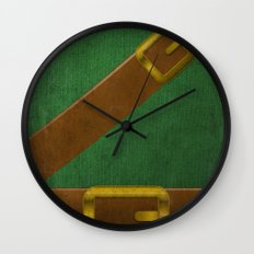 Video Game Poster: Adventurer Wall Clock