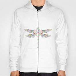 Heart dragonfly Hoody