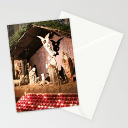 Nativity Scene in St. Patrick's Cathedral Stationery Cards