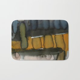 Landscape with Argonauts - Abstract 004  Bath Mat