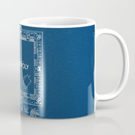 Monopoly blue Patent Coffee Mug