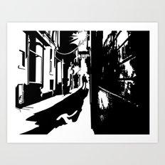 Dark Alley Art Print