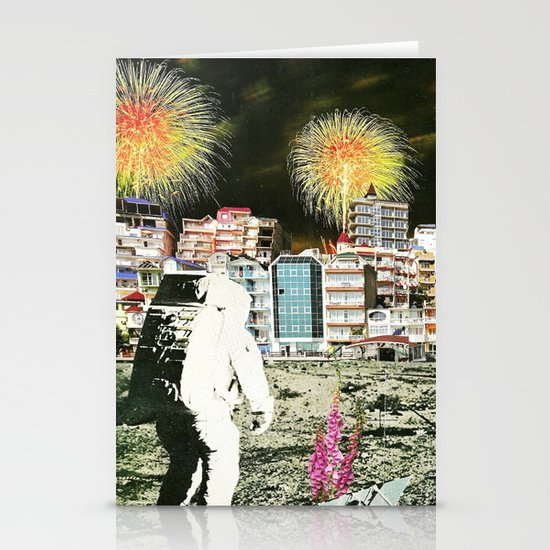 Moon Landing. Stationery Cards