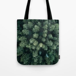 Forest from above - Landscape Photography Tote Bag