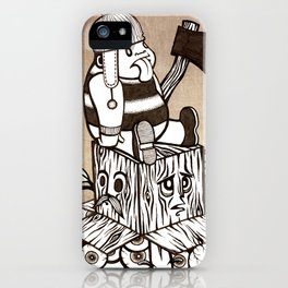 Lumberjack iPhone Case
