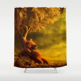 """""""Momentos en el Arbol"""" Shower Curtain"""