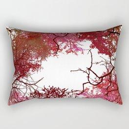 Autumn Treetop Rectangular Pillow