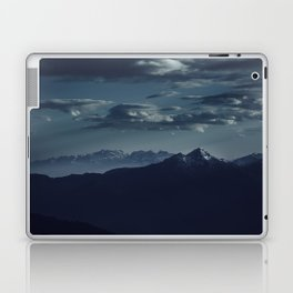 Lonely peak of the mountains Laptop & iPad Skin