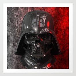 Darth Vader Skull 01 Art Print