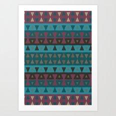 Arizona Peaks Art Print