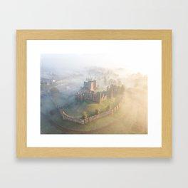 Sunrise over Kenilworth Castle Framed Art Print