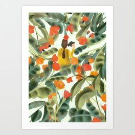 Spying On You Art Print