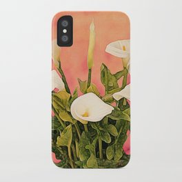 Monterey Calla Lilies iPhone Case