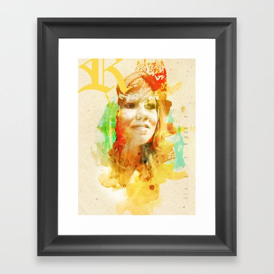 RELA Framed Art Print