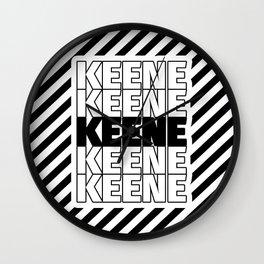 Keene USA CITY Funny Gifts Wall Clock