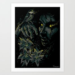 The life of the living dead Art Print
