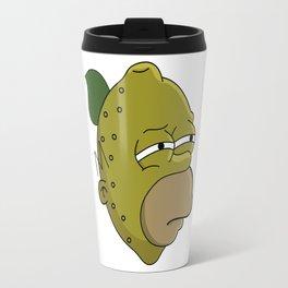 Homer Lemonhead Travel Mug