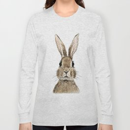 cute innocent rabbit Long Sleeve T-shirt