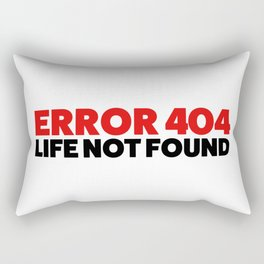 Error 404 Rectangular Pillow