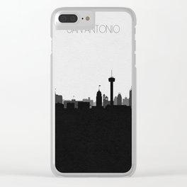 City Skylines: San Antonio (Alternative) Clear iPhone Case