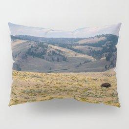 Yellowstone Bison Pillow Sham