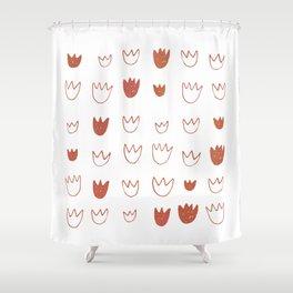 Duck Feet Shower Curtain