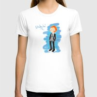 tom hiddleston T-shirts featuring Tom Hiddleston - Ehehehe! by Delucienne Maekerr