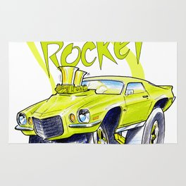 Camaro RS Rug