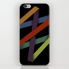 Folded Abstraction iPhone & iPod Skin
