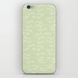 Follow the arrow iPhone Skin