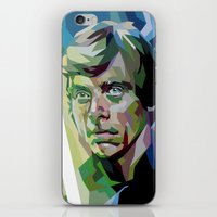 luke hemmings iPhone & iPod Skins featuring Luke by iankingart