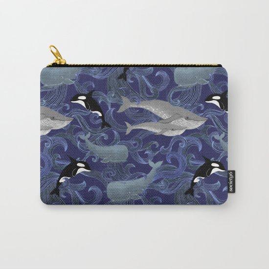 Beautiful Ocean Giants - purple Carry-All Pouch