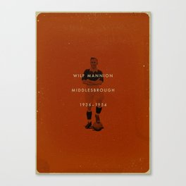 Middlesbrough - Mannion Canvas Print
