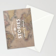 Those who tell the Stories, Rule the World. Stationery Cards