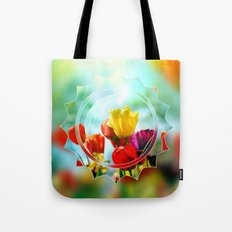 Tulips in the sunshine Tote Bag