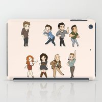 dance iPad Cases featuring Dance by kendrawcandraw