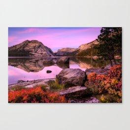 Tenaya Lake Canvas Print