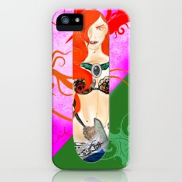 Warrior Lady.  iPhone Case