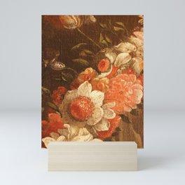 Flowers of old masters Mini Art Print