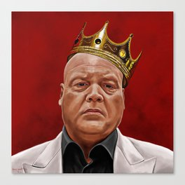 The Kingpin Canvas Print