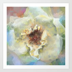 Coastal Rose Art Print