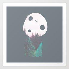 Dreamland Kodama Art Print