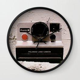 Pronto B Land Camera, 1977 Wall Clock